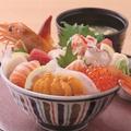 料理メニュー写真【大人気】贅沢はこだて丼【全部のせ】