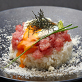 料理メニュー写真『鮪×パルメザン×温玉ご飯』
