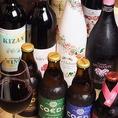 日本酒、ワイン、ウィスキー、焼酎、果実酒など厳選したお酒を取り揃えております。お料理にマッチしたお酒をご提供いたします。お気軽にお声掛けください。