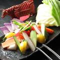 料理メニュー写真三浦産地野菜の盛り込みディップスタイル/チョレギサラダ