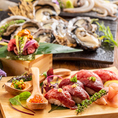 北海道産の食材をふんだんに使ったコースは全て飲み放題付きです♪産地直送!北海道の豊かな大海が育んだ肉×海鮮を当店でお楽しみ下さい!!さらに旬の素材で創り上げる料理長特製のお料理は絶品♪季節を感じられるお料理を沢山ご用意しております♪当店の自慢のコース料理で楽しい時間を…♪