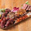料理メニュー写真肉盛り合わせ5種~サーロイン・赤身・ハラミ・ポーク・チキン