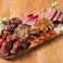 肉盛り合わせ5種~サーロイン・赤身・ハラミ・ポーク・チキン