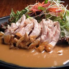 サラダチキンのバンバンジー風サラダ