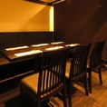 宴会利用にもお勧めの個室をご用意。最大40名様まで収容可能です。