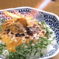 料理メニュー写真特製ウニ味噌焦がし飯