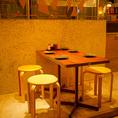 居心地の良いテーブル席
