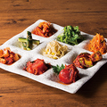 料理メニュー写真クジョルパン(9種の前菜)
