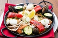 料理メニュー写真季節のパエリア