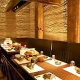 シックなデザインが大人の時間を演出赤坂 、溜池山王の個室居酒屋でご宴会、接待 、飲み放題 、和食を。