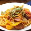 料理メニュー写真ナポリタン田舎風