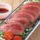 ■ 米沢牛のローストビーフ トリュフソース