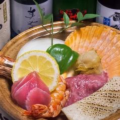 海賊焼(魚介類・肉・野菜)/海鮮焼(魚貝類/野菜)/肉陶板焼(牛豚ミックス・野菜)