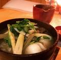 料理メニュー写真町家名代 塩だまっこ汁(創作郷土料理)