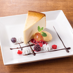 料理メニュー写真ニューヨークチーズケーキ