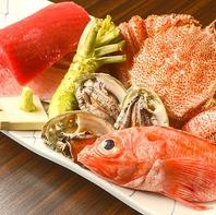 日本各地の旬の食材を毎日仕入れています