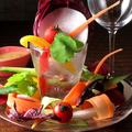 料理メニュー写真季節の野菜のバーニャカウダ