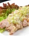 料理メニュー写真蒸し鶏
