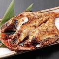 料理メニュー写真金目鯛の開き