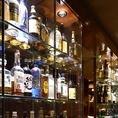 落ち着いた居心地の良い空間で、ウイスキーを楽しんでみてはいかがでしょうか?ジャパニーズやアメリカン・アイリッシュ・スコッチなどをはじめプレミア銘柄も多数ご用意しております。