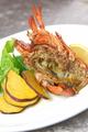 料理メニュー写真オマール海老の鉄板グリル
