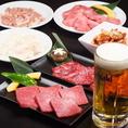 焼肉とビールで乾杯♪