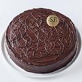 料理メニュー写真カカオ80%濃厚チョコレートケーキ