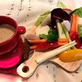 料理メニュー写真朝どれ野菜のバーニャカウダ
