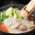 料理メニュー写真冬季限定!≪九州産ハーブ鶏を使用≫博多水炊き