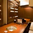 12名様までご利用いただける個室は会社宴会や飲み会に人気です。早めのご予約が◎