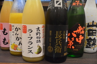 ☆女性必見☆果実酒・日本酒充実!!