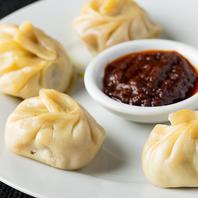 ネパール風餃子、モモもおすすめです