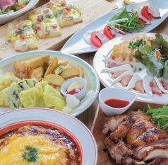 さぼてんcafeのコース写真