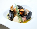 料理メニュー写真ムール貝のソテー ボンゴレロッソ仕立て