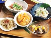 旬の創作和食を日本酒と共に
