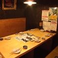 【飲み会】ゆったり寛げる1階テーブル席