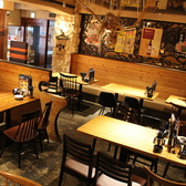 カフェのような落ち着く空間♪総席数は50席