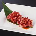 料理メニュー写真黒毛和牛 赤身花咲肉