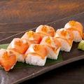 料理メニュー写真秋鮭の棒寿司(一本)