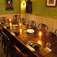 英国調の隠れ家的一軒家♪アンティーク個室は4名~。