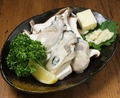 料理メニュー写真カキとエリンギのガーリックバター焼