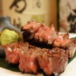「東京ではほとんど手にはいらない一級品の肉」を是非一度炭火焼でご賞味下さい!