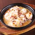 料理メニュー写真タコの味噌チーズ焼