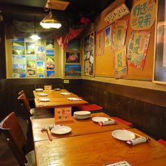 会社帰りの飲み会や女子会、誕生日など様々なシーンにご利用いただけるテーブル席♪