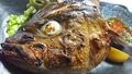 料理メニュー写真カブト&カマ焼き(カンパチ)