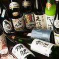 日本酒も豊富にご用意しております!!