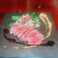 料理メニュー写真鴨胸肉のロースト 赤ワインソース