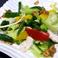 料理メニュー写真温熱サラダ