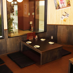 落ち着いたお座敷席は各種ご宴会・飲み会はもちろん、女子会など様々なシーンでご利用頂けます。