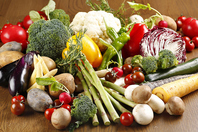 契約農家さんから直接仕入れた新鮮な野菜たち